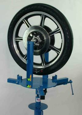 Model # BMC112 Mororcycle Wheel Balancer
