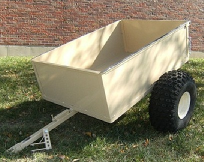 Heavy Duty Hunting - Camping - Utility - ATV Trailer